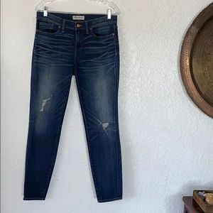 Madewell skinny jeans EUC
